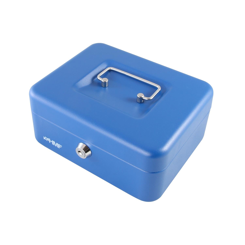 Münzeinsatz HMF Geldkassette Geldkasse Geldbox 20 cm verschiedene Farben