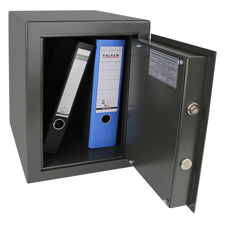 hmf tresor safe wertschutzschrank sicherheitsstufe b vdma 24992 safe ordner 4320 ebay. Black Bedroom Furniture Sets. Home Design Ideas