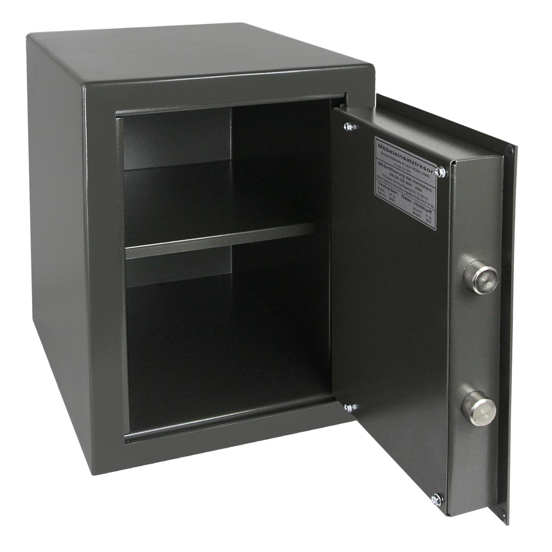 hmf tresor safe wertschutzschrank sicherheitsstufe b vdma 24992 safe 43200 1111 ebay. Black Bedroom Furniture Sets. Home Design Ideas