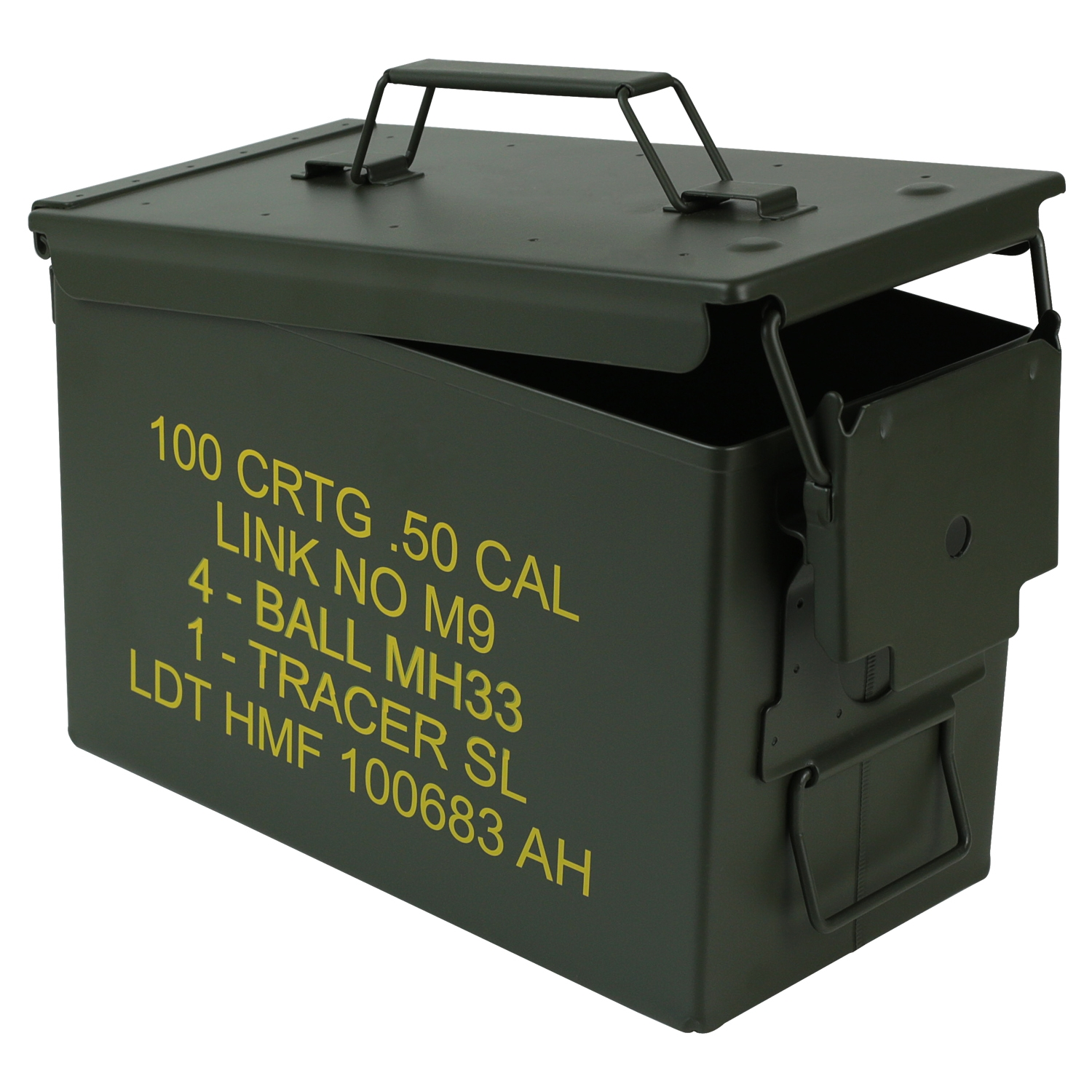 HMF-Munitionskiste-US-Ammo-Box-Metallkiste-Metallbox-Transportbox-Werkzeugkoffer Indexbild 9