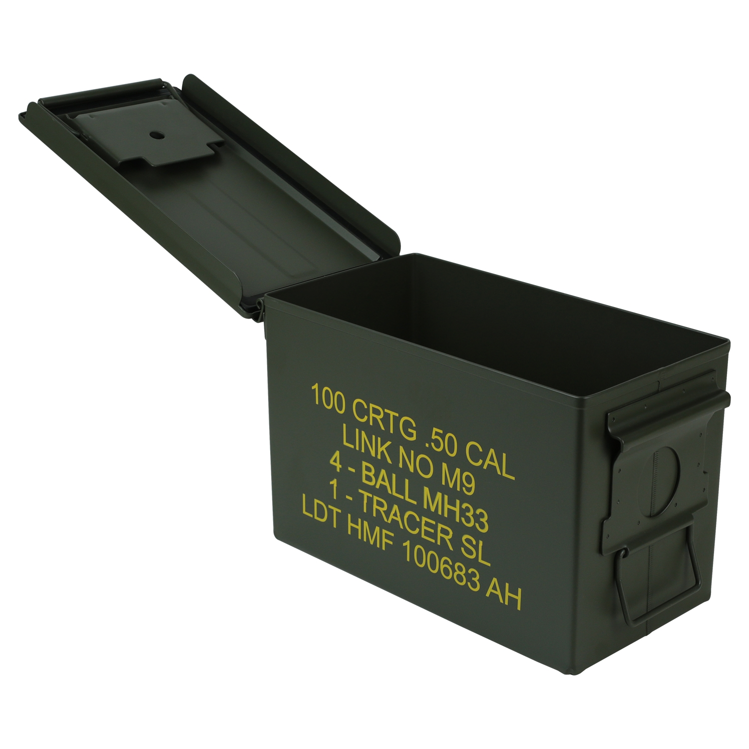 HMF-Munitionskiste-US-Ammo-Box-Metallkiste-Metallbox-Transportbox-Werkzeugkoffer Indexbild 10