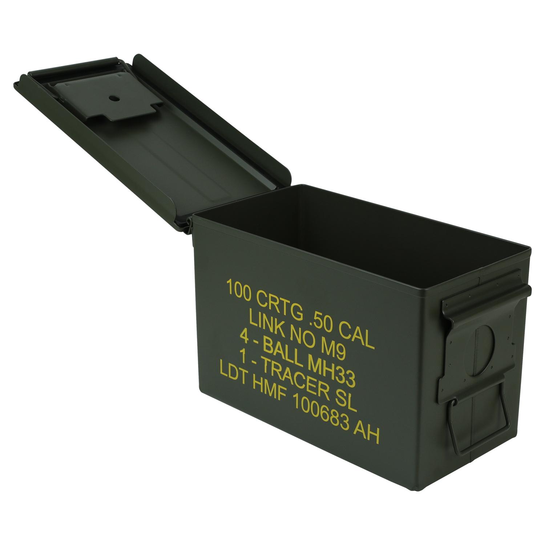 HMF Munitionskiste US Ammo Box Metallkiste Metallbox Transportbox Werkzeugkoffer
