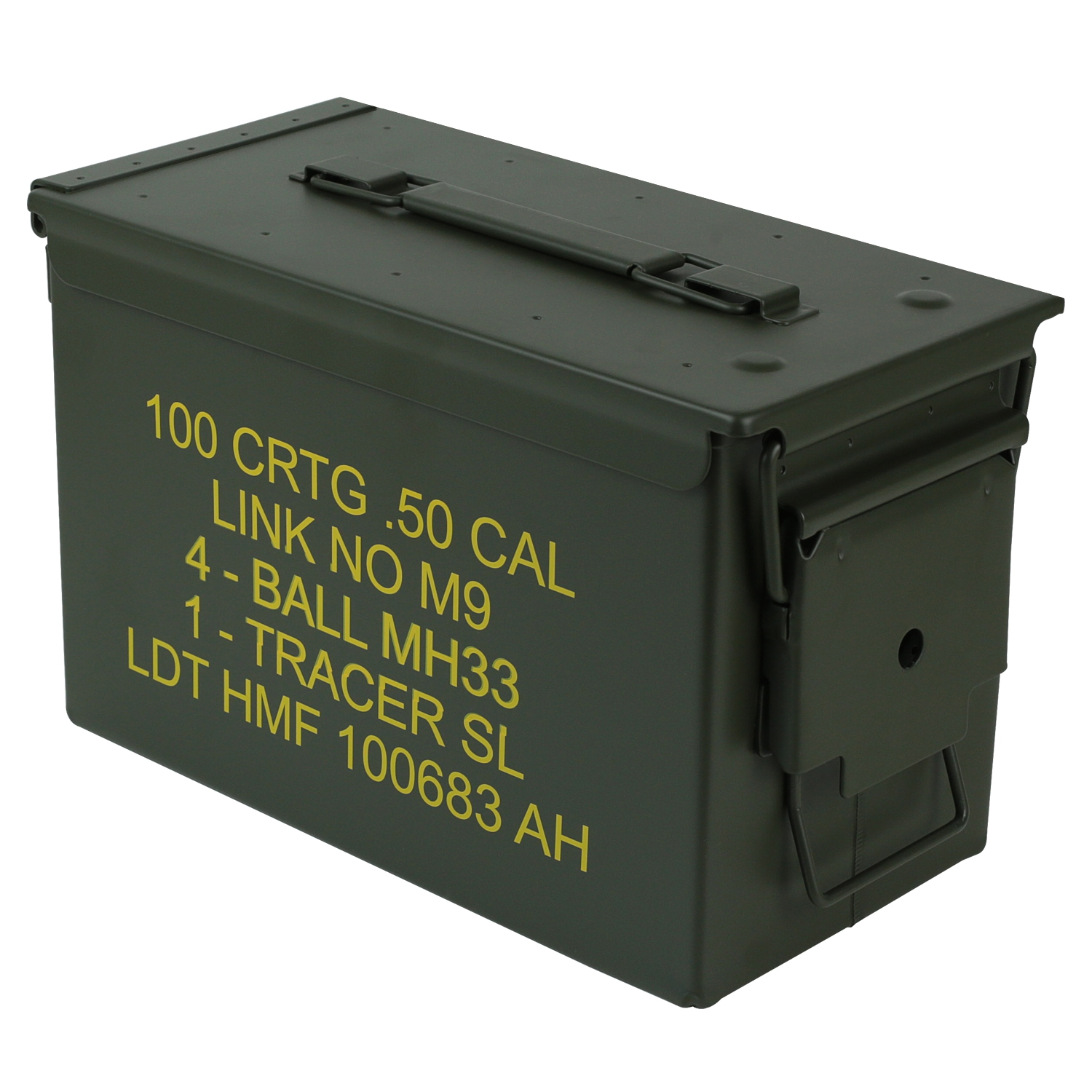 HMF-Munitionskiste-US-Ammo-Box-Metallkiste-Metallbox-Transportbox-Werkzeugkoffer Indexbild 13