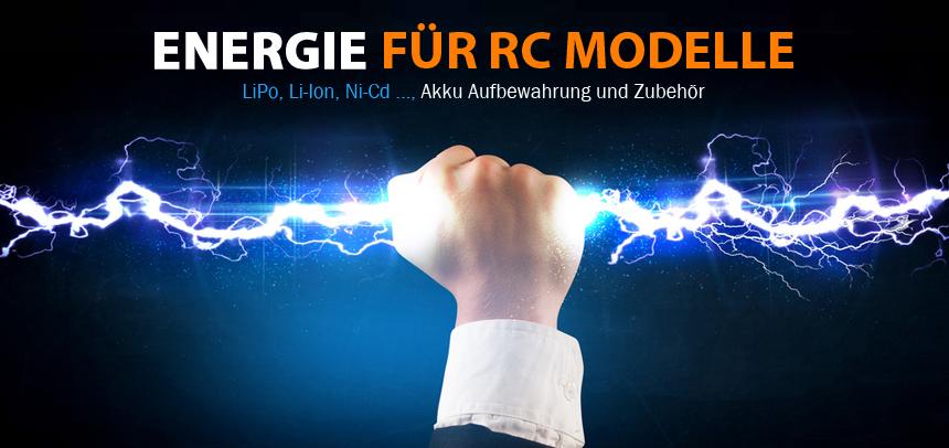 RcErsatzteile Akkus - Energie für RC Modelle