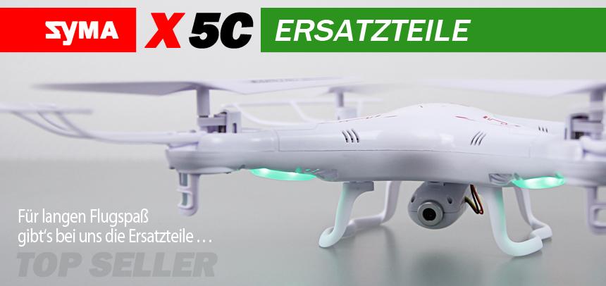 RcErsatzteile Syma X5C Quadrocopter Ersatzteile
