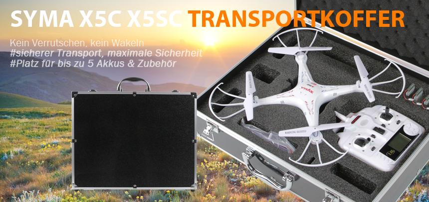 HMF Transportkoffer Syma X5C