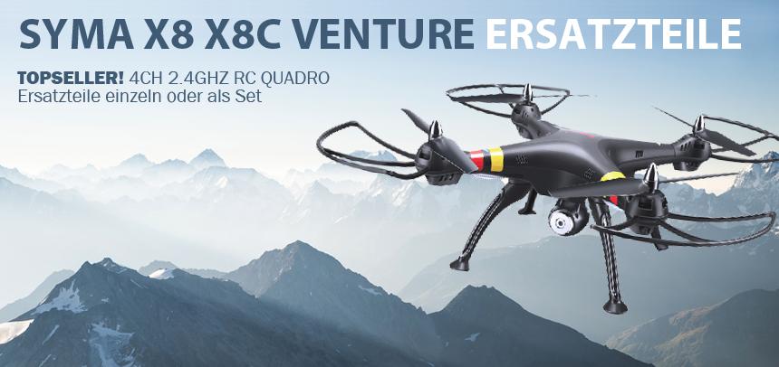 RcErsatzteile Syma X8 X8C Venture
