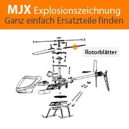 MJX Explosionszeichnung