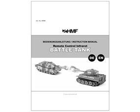 69000 RC Panzer Set Bedienungsanleitung