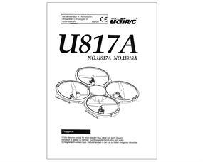 U818 U817 UDIRC Bedienungsanleitung