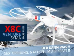 Jiiiihaaa! Das ist mal ein tolles Ding! Der neue Syma X8C Venture Quadrocopter