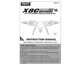 X8C Bedienungsanleitung